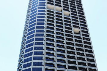 Images of the QV1 building in the Perth CBD. Picture: Michael Wilson, The West Australian